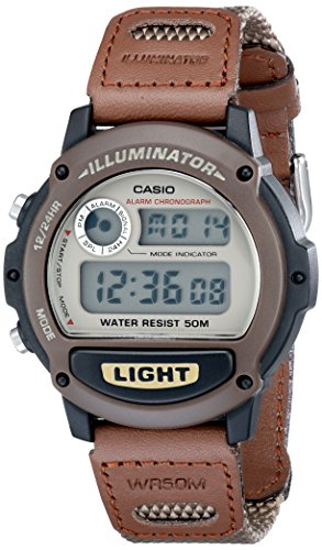 Casio Men's W89HB-5AV Illuminator Nylon Bancd Sport Watch