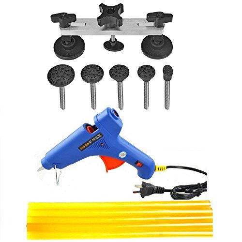 Super PDR11pcs Pops-a-dent Dent & Ding Paintless Dent Removal Repair Tool Kits Pdr Glue Puller (Stale 1) (Dent Repair Tool Kit compare prices)