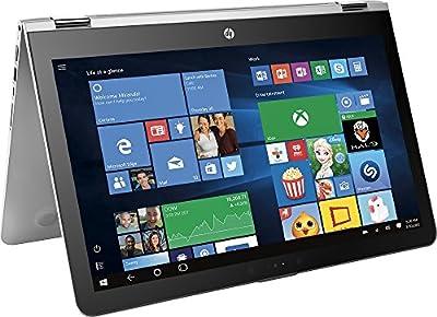 "HP Envy X360 2-in-1 Convertible 15.6"" FHD IPS Touchscreen Laptop, Intel Core i7-7500U, 16GB DDR4, 1TB HDD, Backlit Keyboard, HDMI, Bluetooth, WiFi, B&O Audio, Windows 10, Silver"