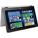 Top Performance HP x360 15.6 2-in-1 FHD IPS 1080p Touchscreen Laptop   Intel Core i5-7200U   12GB DDR4 RAM   1TB HDD   Backlit Keyboard   Bluetooth   HDMI   B&O Play   Windows 10-Silver