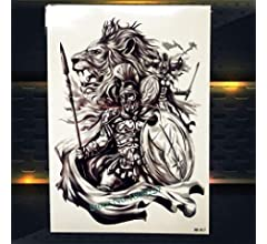 HXMAN 3uns Mitología Griega Centaur Temporal Tatuaje Sagitario ...