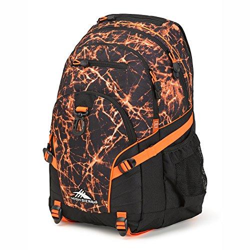 High Sierra Loop Backpack Fireball/Black/Electric Orange