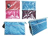 Cosmetic Makeup Bag Size: 11.5'' x 7.3'' x 3'' 4 Asst Colors , Case of 144