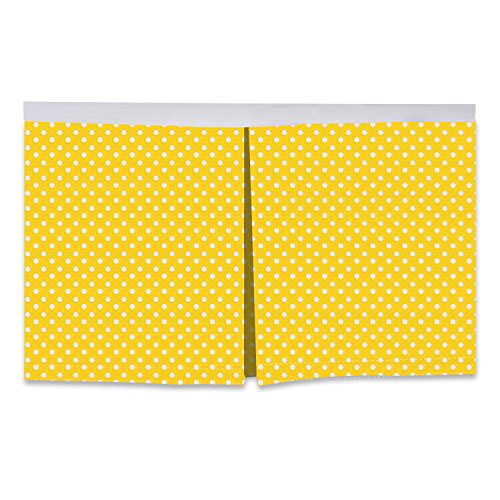 /Toddler Bed Skirt, Yellow, 13