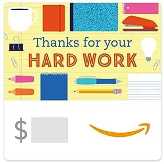 Amazon eGift Card - Thanks for your Hard Work (B01N9GYTOG) | Amazon price tracker / tracking, Amazon price history charts, Amazon price watches, Amazon price drop alerts