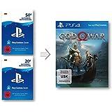 PSN Guthaben Aufstockung für God of War 4 | PS4 Download Code - deutsches Konto