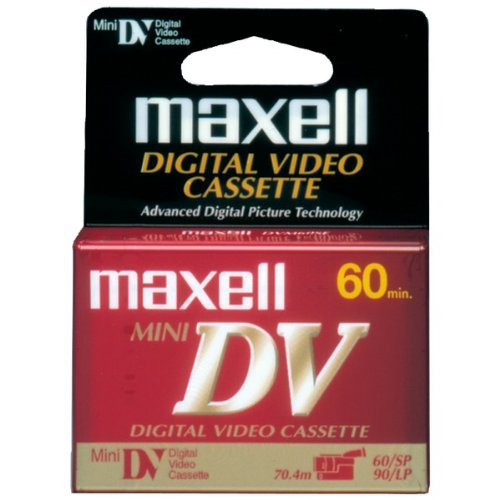 Maxell Mini Digital Video Tapes (Single) Product Category: Video Tape & Accessories/Mini Digital Video Tape