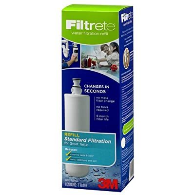 Filtrete Standard Undersink Water Filtration System, Easy to Install (3US-AS01))
