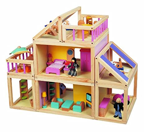 Maxim Designed By You Dollhouse. Furnished Wooden Modular Doll House,  Furniture U0026 Doll People