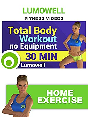 Fitness Videos: Total Body Workout No Equipment - Home Exercise
