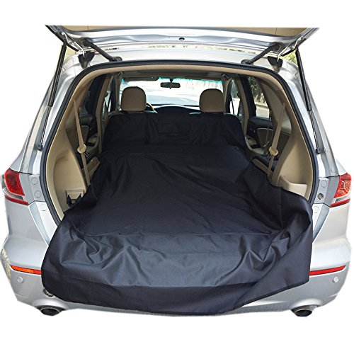 SUV Cargo Liner Cover for Dogs Universal Fit and 100% Waterproof for Standard And Full Size SUV, OR Minivan (Size 55
