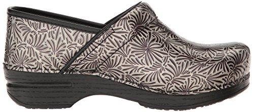 Shoe Dansko Pro Women's Silver Ornate Patent Mule Xp Zgqx4Sg7