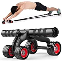 Gujju Store Ab Roller Wheel Abs Carver for Abdominal & Stomach Exercise Training - 1PC