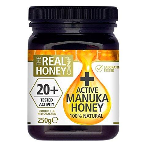 The Real Honey Company Total Activity Manuka Honey 20+ 250g by the real honey company