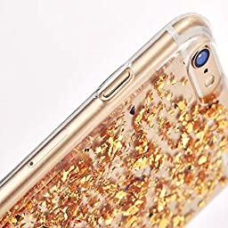 iPhone 7 Plus/7s Plus Bling Soft Liquid Case-Superstart iPhone 7 Plus/7s Plus Blue Funny Cute Flowing Slim Crystal TPU Glitter Fashion Beauty Case for Girls Kids