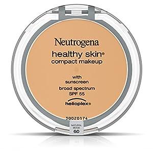 Neutrogena Healthy Skin Compact Makeup Foundation, Broad Spectrum Spf 55, Natural Beige 60, .35 Oz.