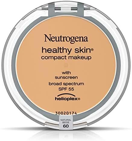 Neutrogena Healthy Skin Compact Makeup Broad Spectrum SPF 55, Natural Beige 60, .35 Oz