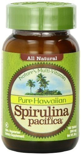 Nutrex Hawaii Spirulina Tabs 500 Mg 100 Tab