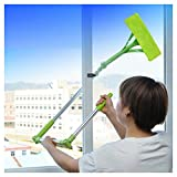 Cleaning Mop, FTXJ Window Glass Door Mirror Telescopic Foldable Cleaner Brush