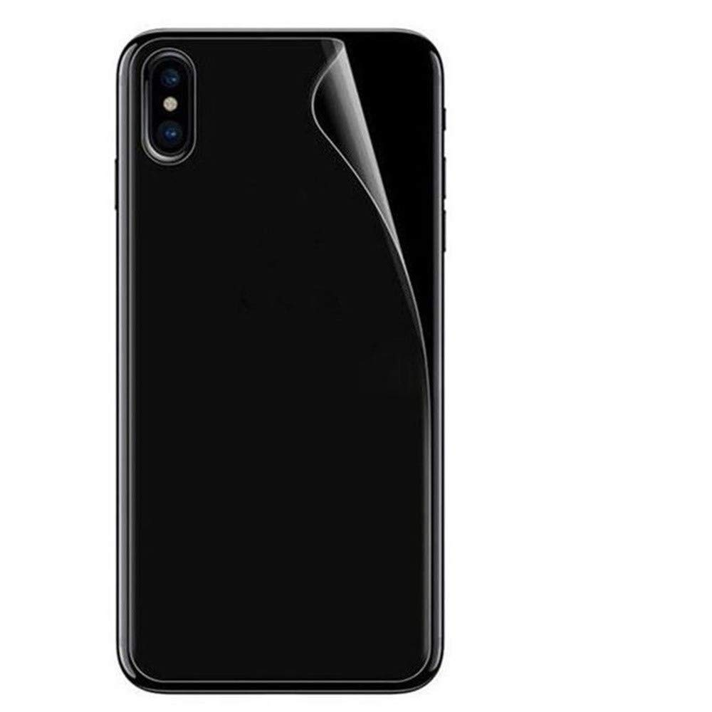 Full Screen, FTXJ Front+Back+Camera Lens Hydrogel HD Screen Protector Film for iPhone Xs/XS Max/XR (Hydrogel A, iPhone Xs Max 6.5inch)
