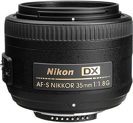 Nikon AF-S DX Nikkor 35 mm f/1.8 G: NIKON: Amazon.es: Electrónica