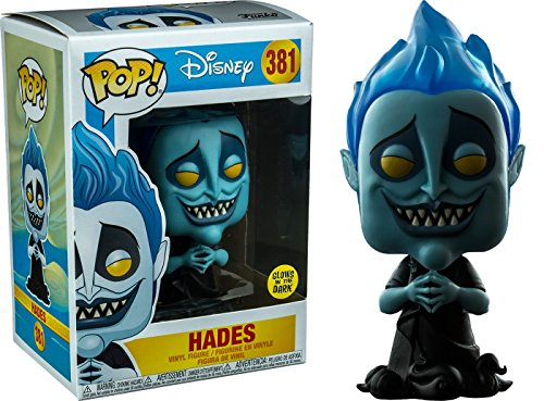 Funko - Figura Decorativa de Disney Hercules-Hades Glows in The Dark (29343)