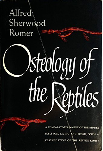Osteology of the Reptiles by Alfred Sherwood Romer - Sherwood Stores Mall