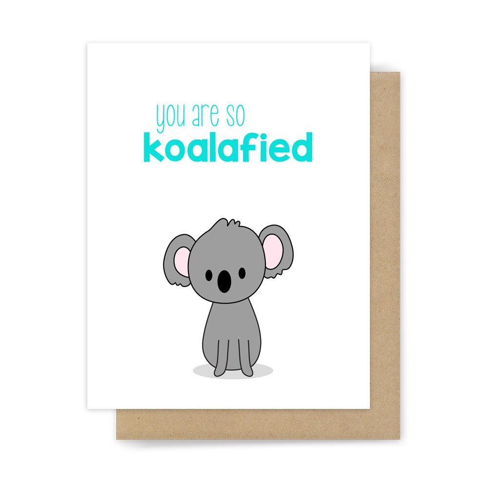 Amazon Congratulations Card Koala Pun Handmade Greeting Handmade
