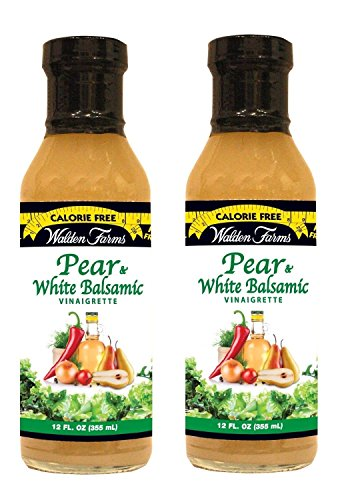 Walden Farms Pear White Balsamic Vinaigrette - (2 Pack ()