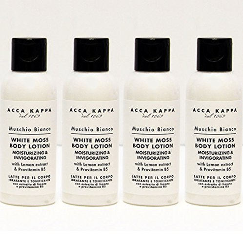 Acca Kappa White Moss Body Lotion 75 ml Travel Bottles - ...