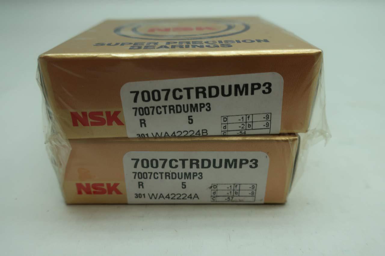Nsk 7007CTRDUMP3 Angular Contact Ball Bearing 35mm 62mm 7mm
