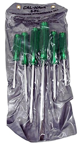6-pc. Go-through Screwdriver Set ()