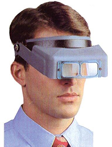 - DA-4 Part# DA-4 - Headband Optivisor Magnifier Leather Adj W/DA-4 Lens Plate ...