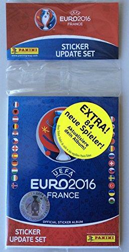 Panini EM Euro 2016 Frankreich France Update Set Multipack 84 neue Sticker Neu