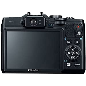 Canon PowerShot G16 12.1 MP CMOS Digital Camera with 5x Optical Zoom and 1080p Full-HD Video Wi-Fi Enabled(Certified Refurbished) from Canon