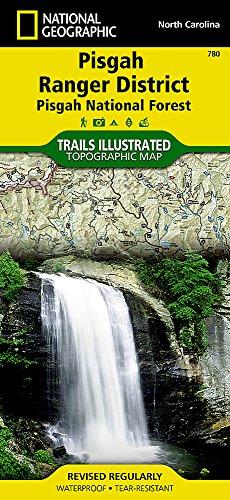 Pisgah Ranger District [Pisgah National Forest] (National Geographic Trails Illustrated Map) ()