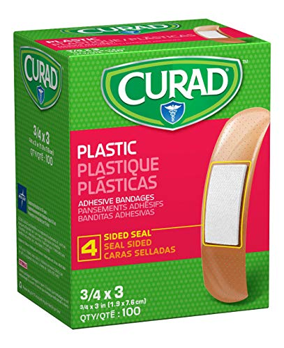 Medline NON25500Z Curad Plastic Adhesive Bandages, Size is 3/4