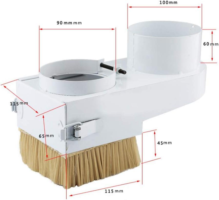 perfk Staubkollektor Staubschutzkollektor Staubschutzb/ürste B/ürste Staubreiniger f/ür CNC-Fr/äsmaschinen