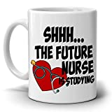 Funny College Nursing Student Gifts Coffee Mug Shhh - Best Reviews Guide