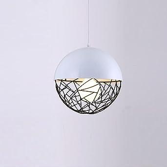 Retro Vintage Pendelleuchte Hängelampe Aufhängeleuchten Kreativ Runden Ball  Käfig Entwurf Eisen Lampenschirm Für Schlafzimmer Wohnzimmer Kücheninsel