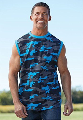 KingSize Lightweight Cotton Muscle Shirt, Hunter Tall-2Xl by KingSize (Image #2)