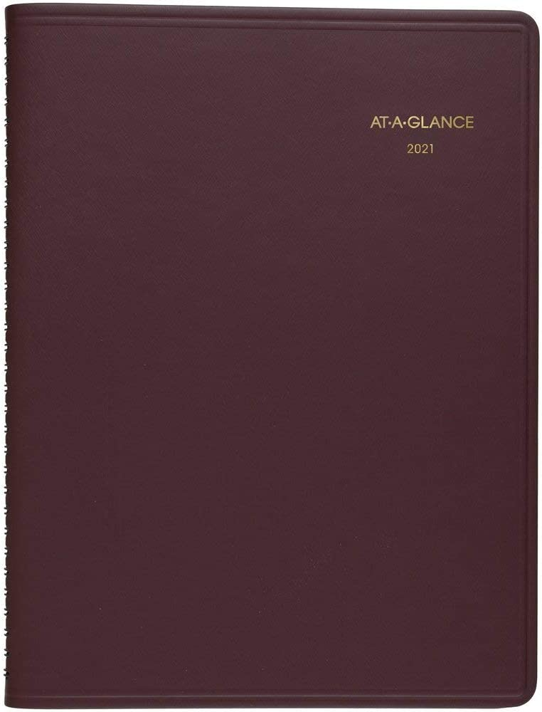 2021 Weekly Appointment Book & Planner by AT-A-GLANCE, 8-1/4