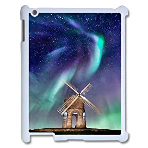 The Aurora Borealis Personalized Cover Case with Hard Shell Protection for Ipad2,3,4 Case lxa#380802