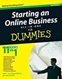 img - for Starting an Online Business All-in-One Desk Reference For Dummies book / textbook / text book