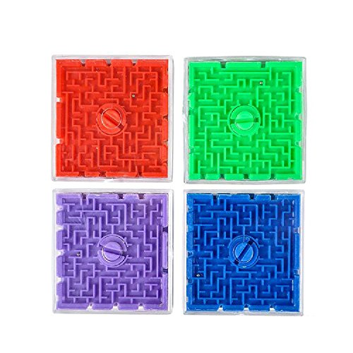 2.5'' Plastic Maze Game by Bargain World