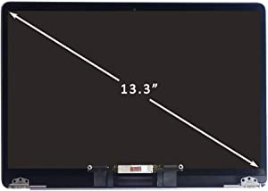 """FIRSTLCD fulltop Screen Replacement Fit for MacBook Air A1932 2018 Year EMC3184 MRE82LL/A Retina LCD Display Assembly 13.3"""" 2560x1600(Space Grey)"""