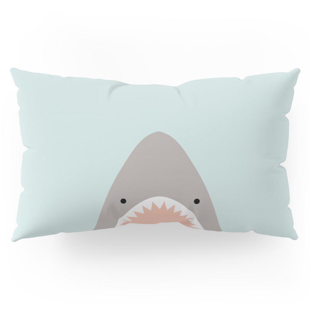 Society6 Shark Attack Pillow Sham King (20'' x 36'') Set of 2 by Society6