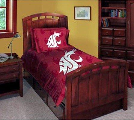 Washington State Cougars Comforter Set - Twin (Washington State Comforter)