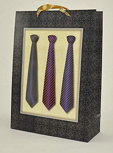 Dos bolsas de regalo corbata hombre 3D 30 x 12 x 42 cm: Due Esse ...