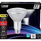 Feit Electric PAR30L/930/LEDG11/2 750 lm 3000K High CRI LED PAR30 Blub (2 Pack)